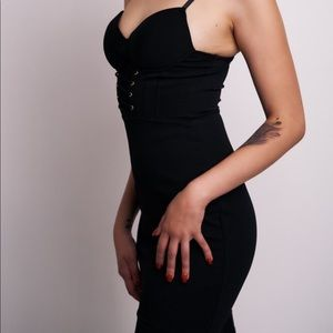 sexy black mesh bodycon dress!